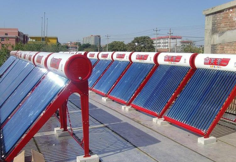 太阳能热水工程案例